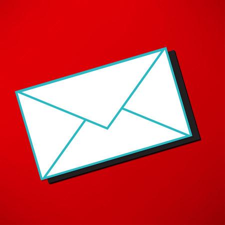envelope icon: postal envelope icon Illustration