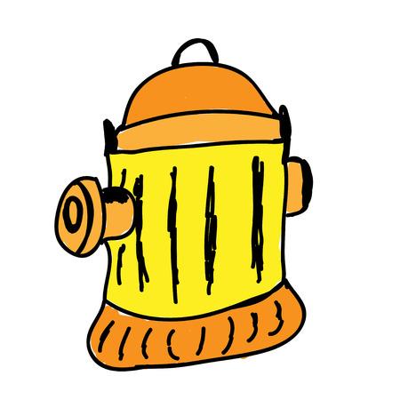 fire hydrant: fire hydrant cartoon