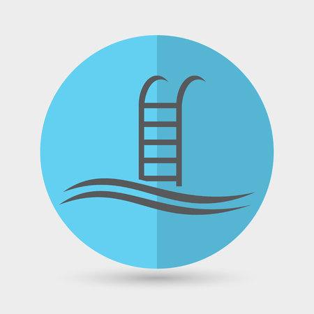 bathe: Swimming Pool Icon