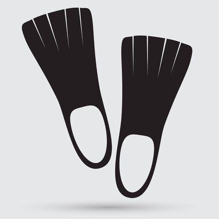 schwimmflossen: Flossen icon