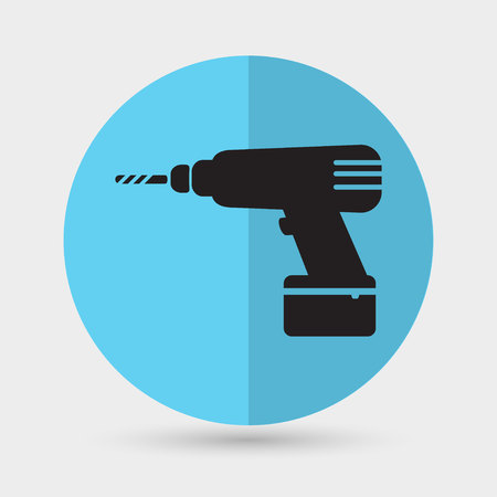 drill: Drill icon Illustration