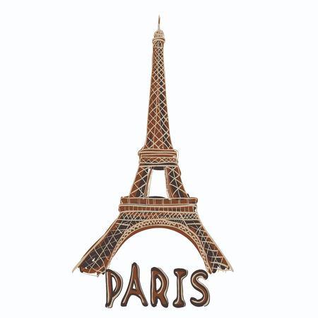 tv tower: Eiffel Tower, Paris. France