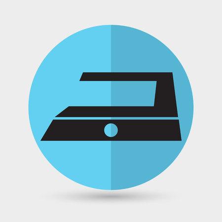 smoothing: Steam iron icon