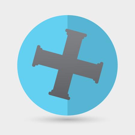 kunststoff rohr: Rohre icon