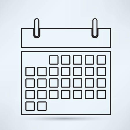 Kalender Icoon