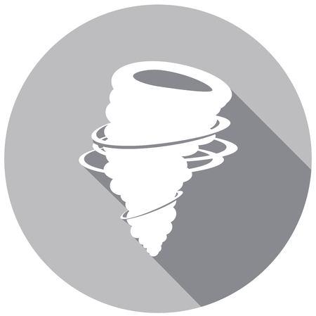 cyclonic: wind icon vector Illustration