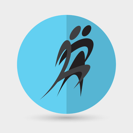 flexible girl: dance icon