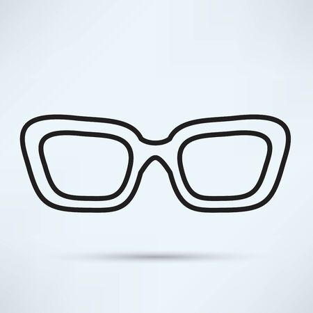 ocular: Glasses icon