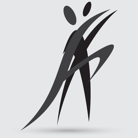gym dress: dance icon