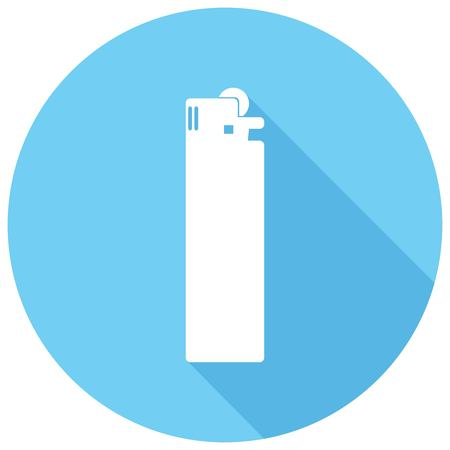 igniter: Icon lighter with a long shadow