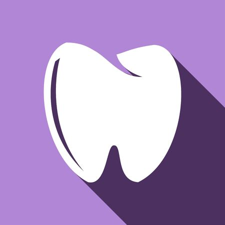 mouth screen: Tooth icon Illustration