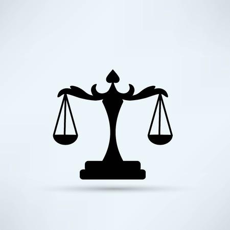 justice scale: balanza de la Justicia