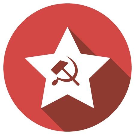 lenin: sicklsickle hammer icone
