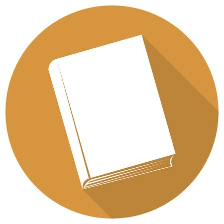 videobook: Book icon with long shadow