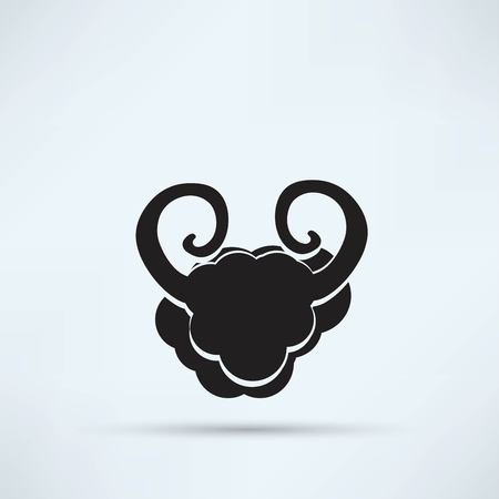 small flock: Sheep icon