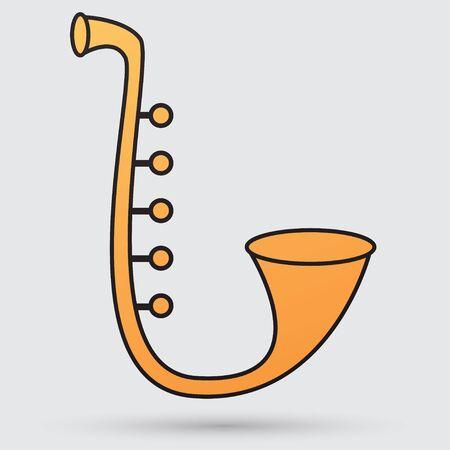 Saxophone 向量圖像