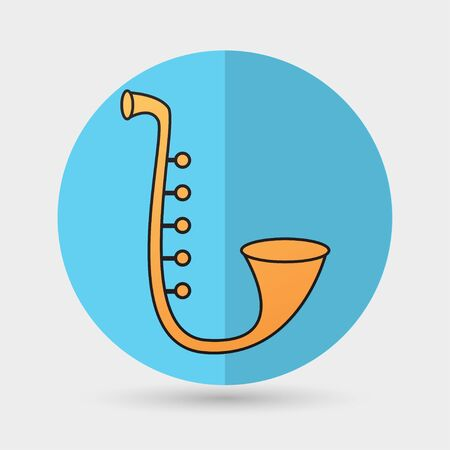 classical theater: Saxophone Illustration