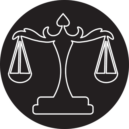 truthfulness: scales of Justice
