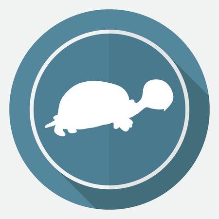 herbivorous animals: turtle icon