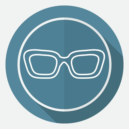 spectacle frame: Glasses icon