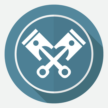 fuel rod: Piston icon