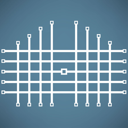 smith: gate icon Illustration