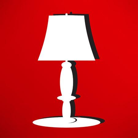 lamp shade: table lamp icon