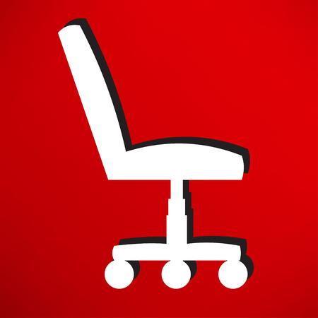 con: Office chair con
