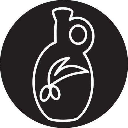 oilcan: olive oil bottle icon