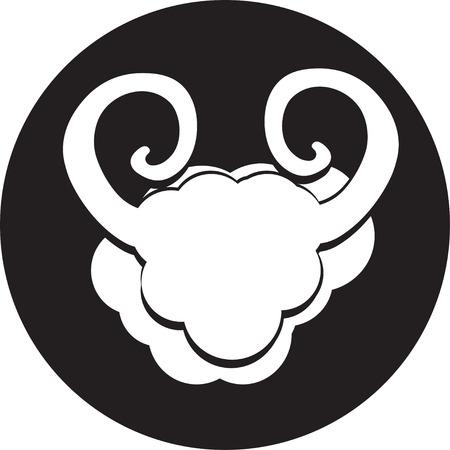 small flock: Sheep icon