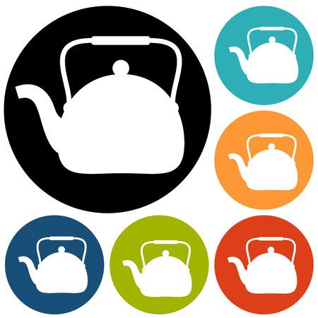 메이커: Tea maker Kitchen Icon