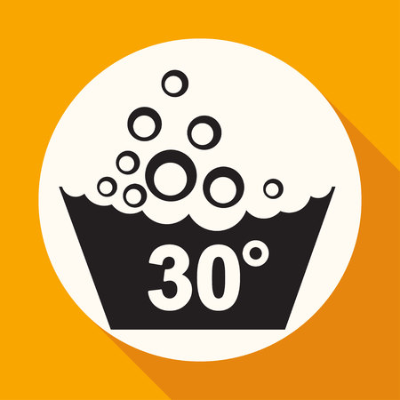 lavamanos: Conjunto de símbolos de lavado icono