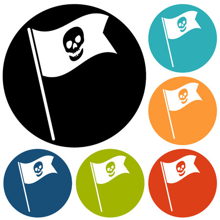 skull icon: Skull icon isolated