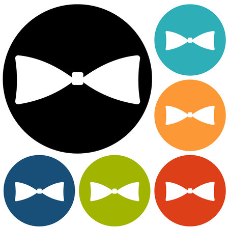 official wear: Simple Bow Tie icon