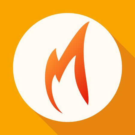 Fire icon Illustration
