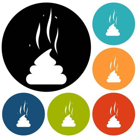 livelihoods: Poo icon Illustration