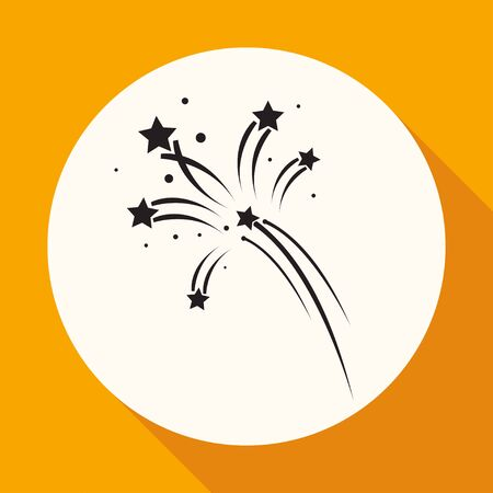 pyrotechnic: Fireworks rockets sign icon. Explosive pyrotechnic device symbol Illustration