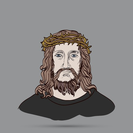 redemption: Jesus With Crown Of Thorns