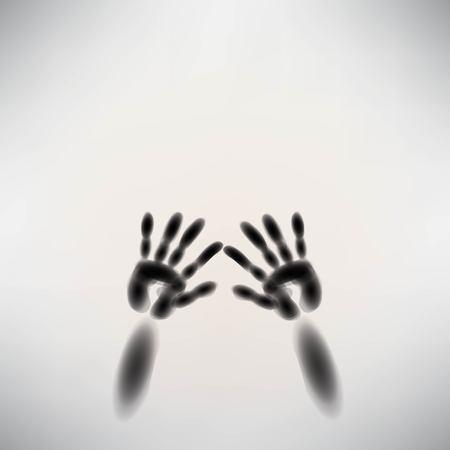 diffuse: spooky diffuse silhouette