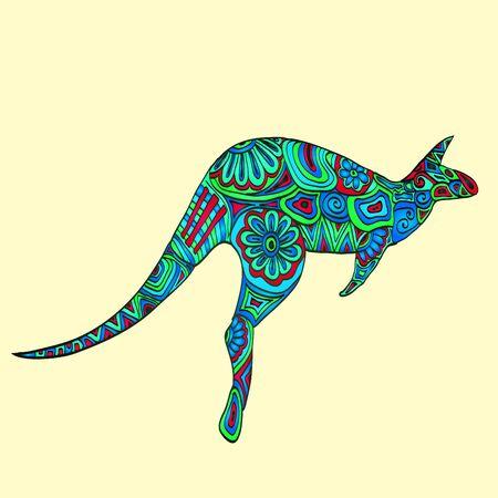 wallaby: Bright kangaroo