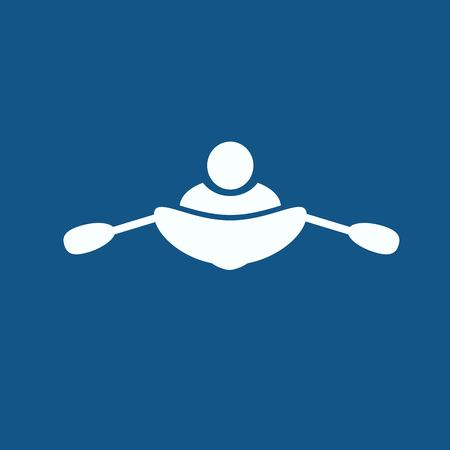 sports shell: rowing icon
