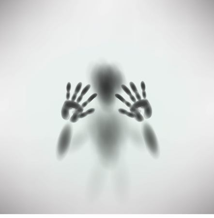 diffuse: silhouette of man