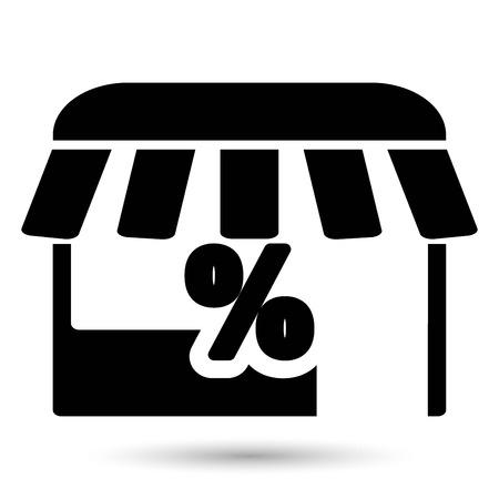 kiosk: Kiosk Vector Icon