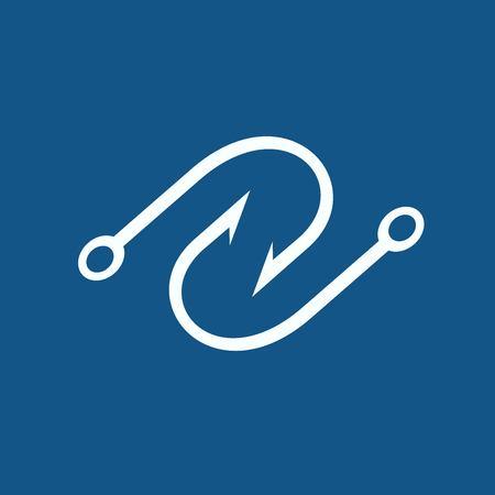 lacing: Hook icon Illustration