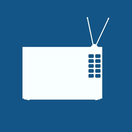tv panel: tv icon
