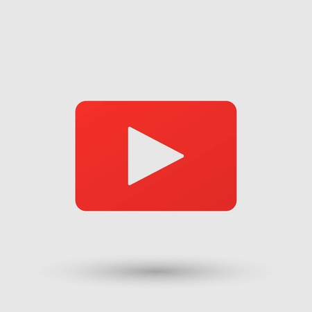 button icon: Play button icon Illustration
