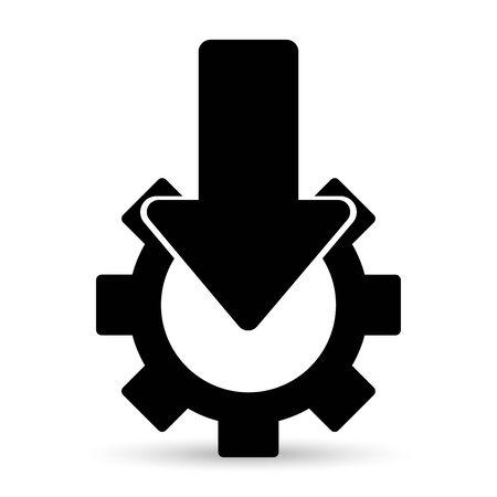 screw key: Vector Repair Icon
