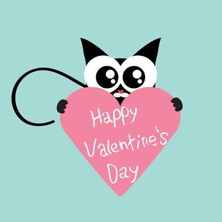 cat s: kitten in love Illustration