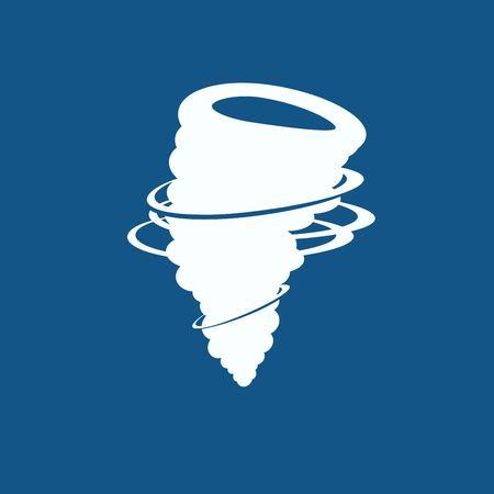 cyclonic: wind icon Illustration