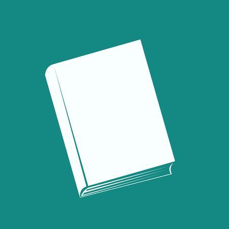 e book reader: book icon Illustration